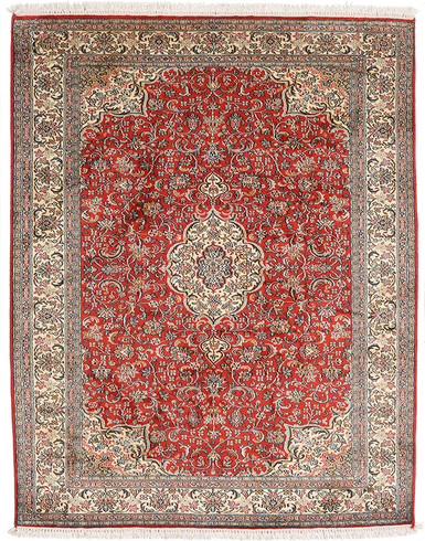 Kashmir Pure Silk Carpet 2.5 X 4 ft Hand knotted