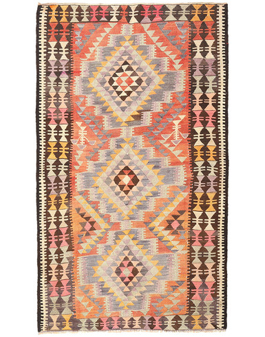Kilims 5 x 8 ft unique woven by hand