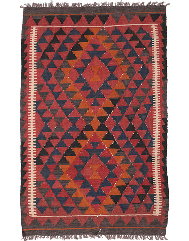 Kilim Maimane 4 x 6 ft unique woven by hand