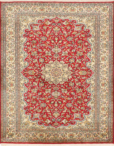 Kashmir pure silk  2.5 X 4 FT Hand knotted